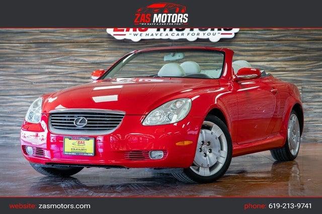 2002 Lexus SC 430 430 RWD