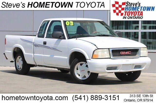 2003 GMC Sonoma SLS Ext Cab SB