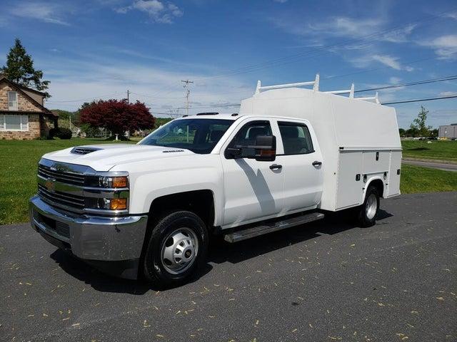 2018 Chevrolet Silverado 3500HD Work Truck Crew Cab 4WD