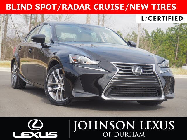 2018 Lexus IS 300 Sedan RWD