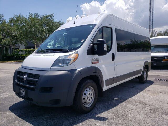 2018 RAM ProMaster 2500 159 High Roof Cargo Van with Window