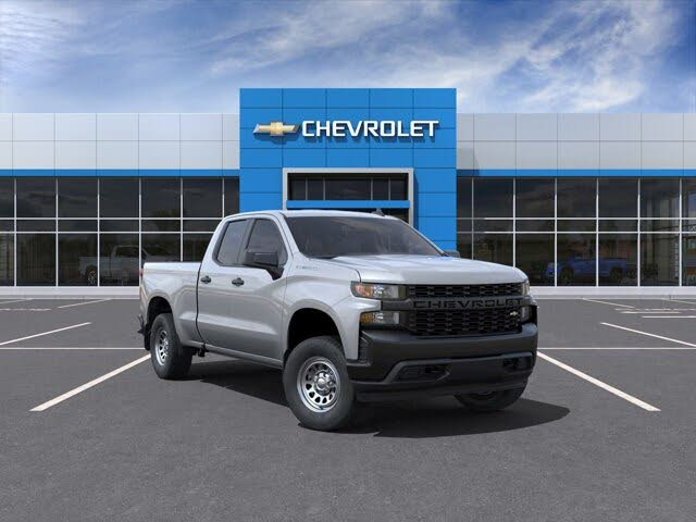 2021 Chevrolet Silverado 1500 Work Truck Double Cab 4WD