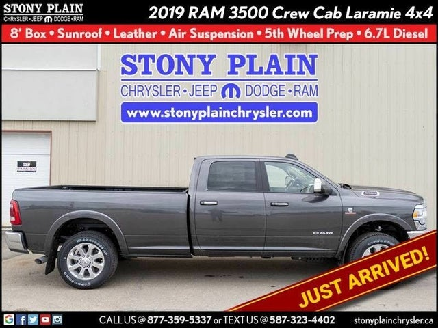 2019 RAM 3500 Laramie Crew Cab LB 4WD