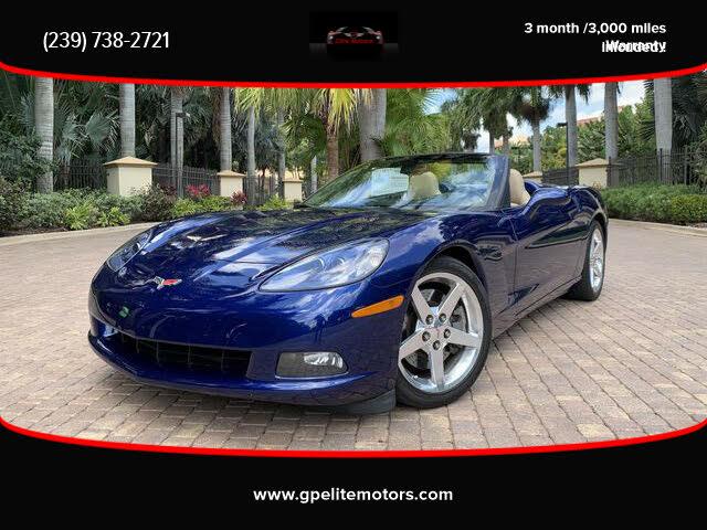 2005 Chevrolet Corvette Convertible RWD