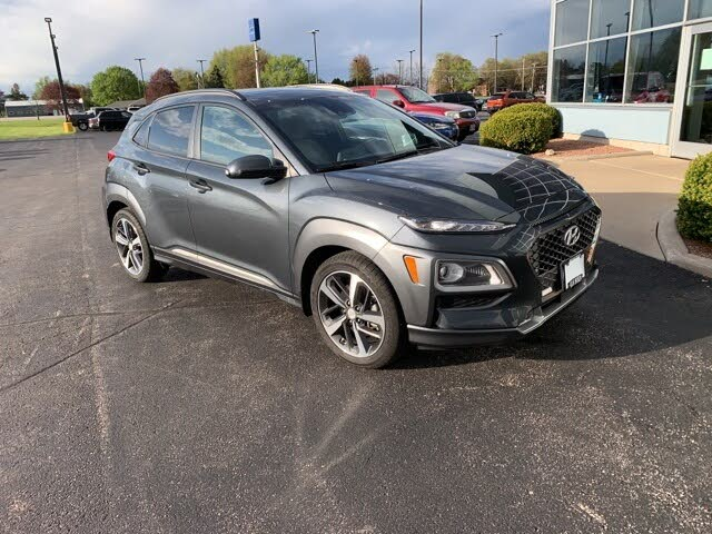 2018 Hyundai Kona Ultimate FWD with Lime Accent