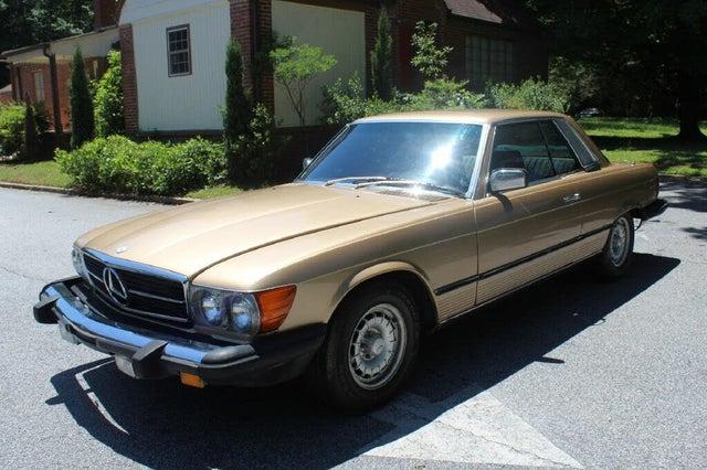 1981 Mercedes-Benz 380-Class 380SLC Coupe