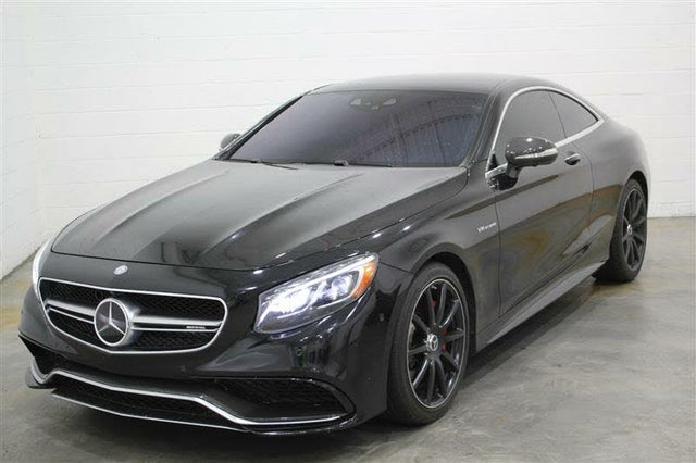 2016 Mercedes-Benz S-Class Coupe S 63 AMG 4MATIC