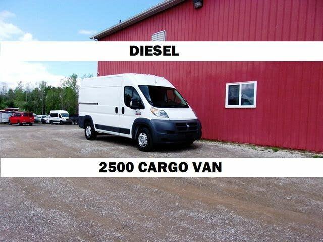 2014 RAM ProMaster 2500 136 High Roof Cargo Van