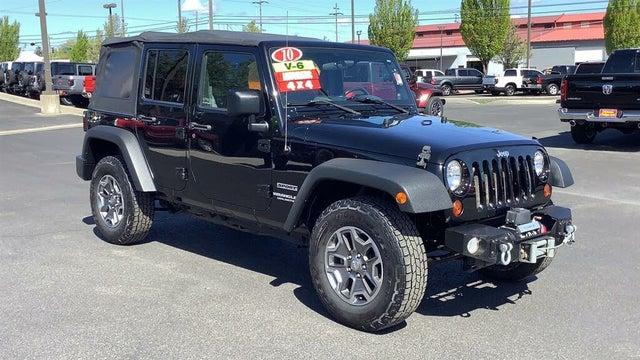 2010 Jeep Wrangler Unlimited Sport 4WD