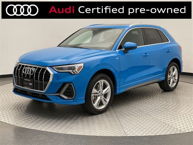 2020 Audi Q3 2.0T quattro Premium Plus S Line AWD