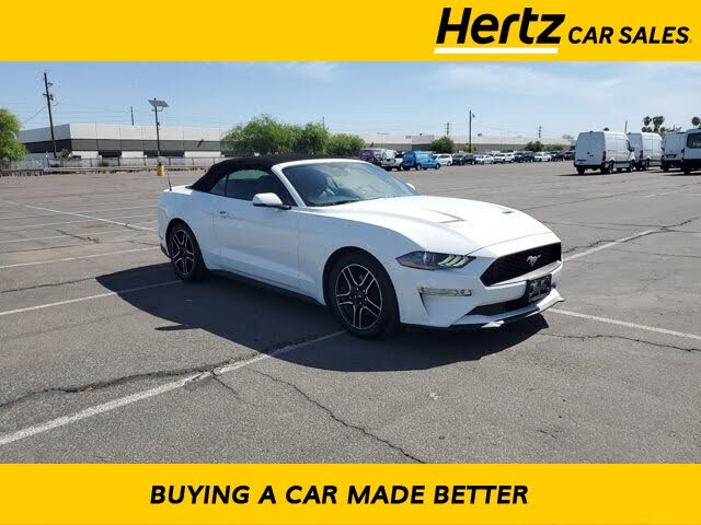 2019 Ford Mustang EcoBoost Convertible RWD