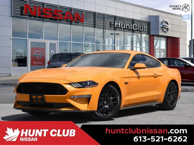 2018 Ford Mustang GT Coupe RWD
