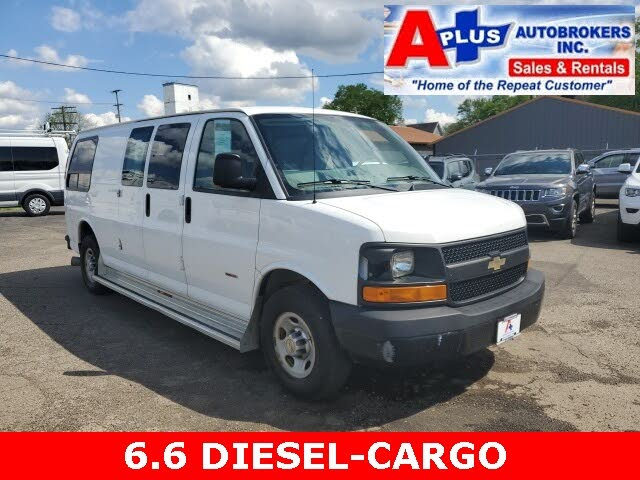 2012 Chevrolet Express Cargo 3500 Diesel Extended RWD