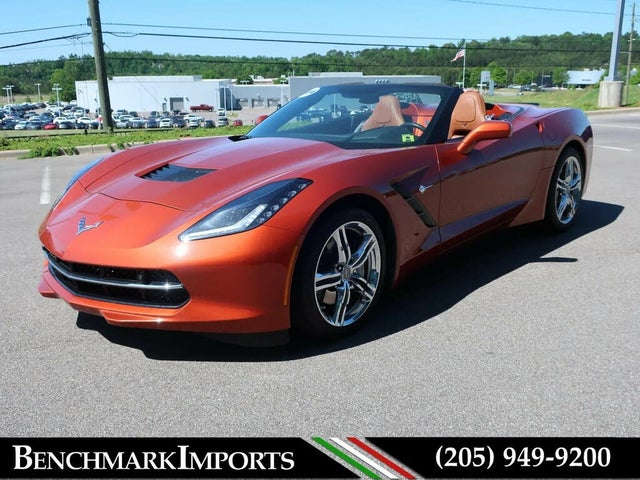 2016 Chevrolet Corvette Stingray 2LT Convertible RWD