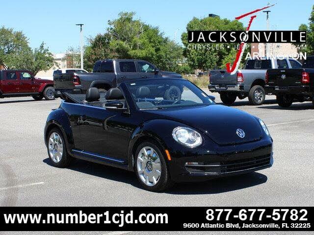 2016 Volkswagen Beetle 1.8T SEL Convertible