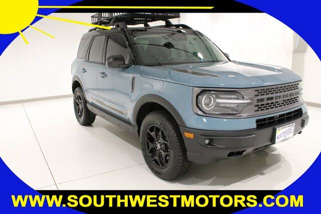 2021 Ford Bronco Sport First Edition 4WD
