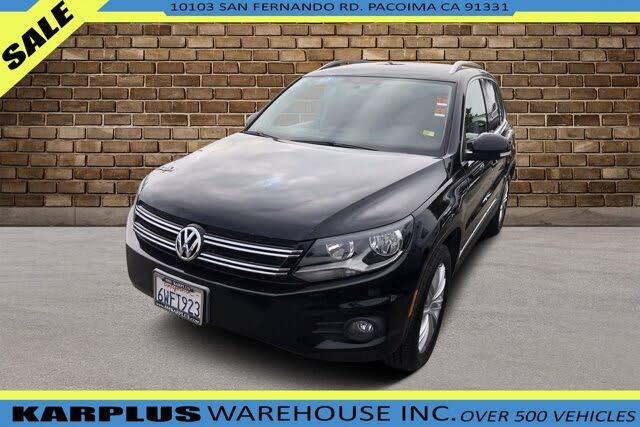 2012 Volkswagen Tiguan S