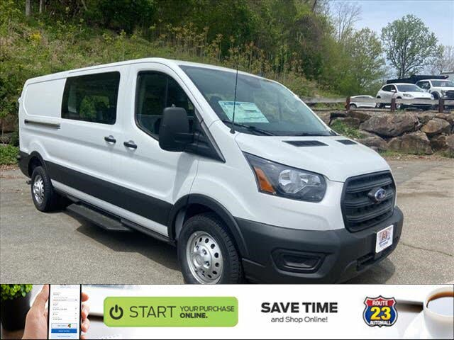2020 Ford Transit Crew 150 Low Roof AWD with Sliding Passenger-Side Doors