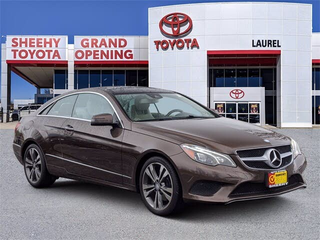 2015 Mercedes-Benz E-Class E 400 Coupe 4MATIC AWD