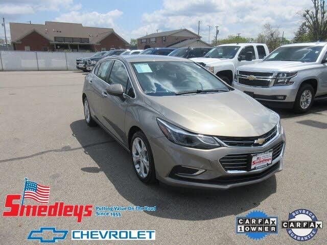 2018 Chevrolet Cruze Premier Hatchback FWD