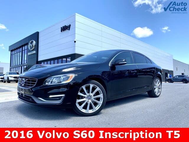 2016 Volvo S60 T5 Inscription Platinum