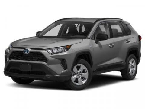 2021 Toyota RAV4 Hybrid LE AWD