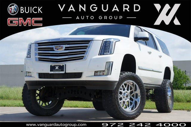 2018 Cadillac Escalade ESV Platinum 4WD