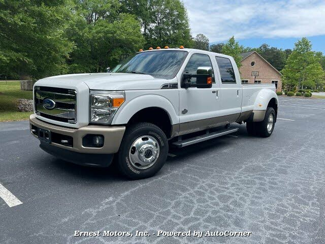 2012 Ford F-350 Super Duty King Ranch Crew Cab LB DRW 4WD