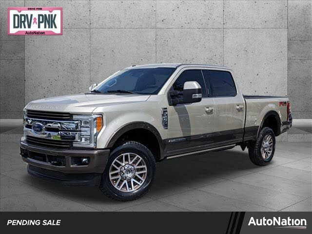 2017 Ford F-250 Super Duty King Ranch Crew Cab 4WD