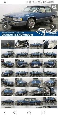 1989 Cadillac DeVille Sedan FWD