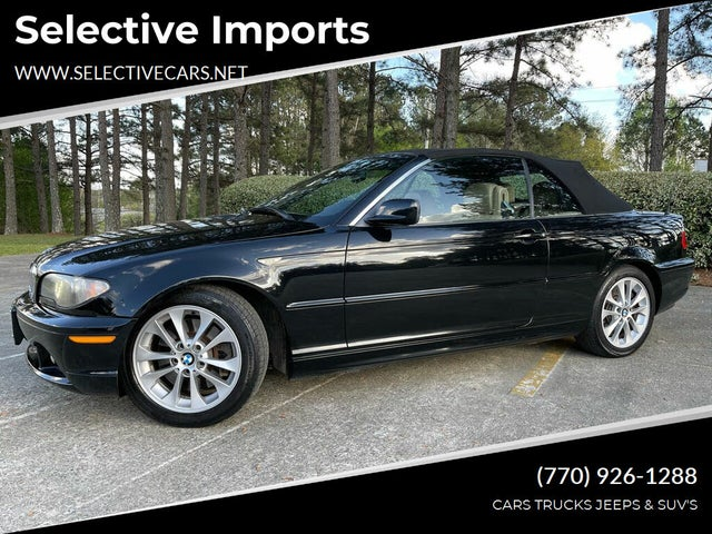 2006 BMW 3 Series 330Ci Convertible RWD