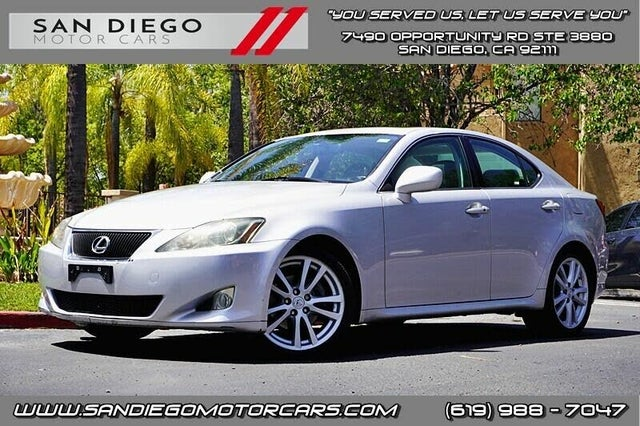 2006 Lexus IS 250 RWD