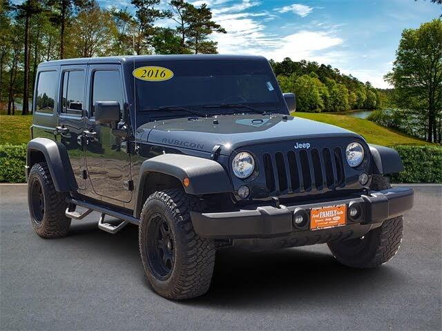 2016 Jeep Wrangler Unlimited Rubicon 4WD