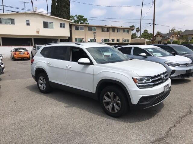 2018 Volkswagen Atlas S 4Motion