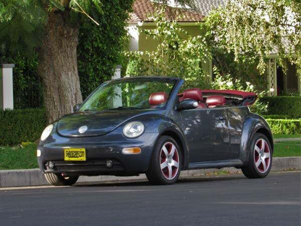 2005 Volkswagen Beetle Dark Flint Edition Convertible