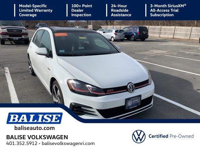 2020 Volkswagen Golf GTI 2.0T SE 4-Door FWD