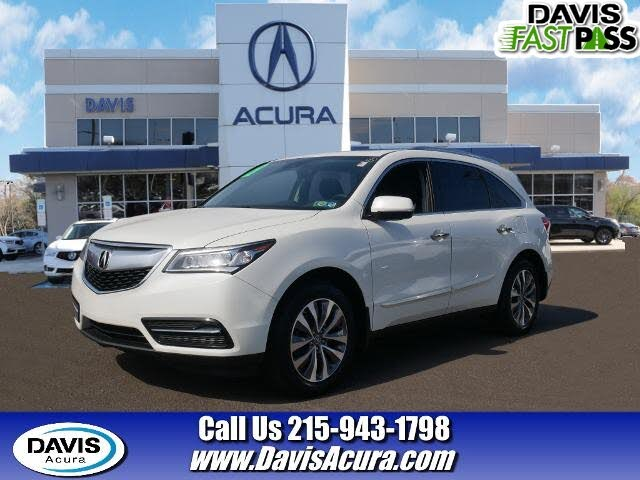 2016 Acura MDX SH-AWD with Technology and AcuraWatch Plus Package