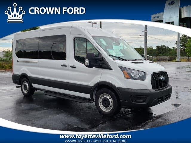 2021 Ford Transit Passenger 350 XL Medium Roof LB RWD