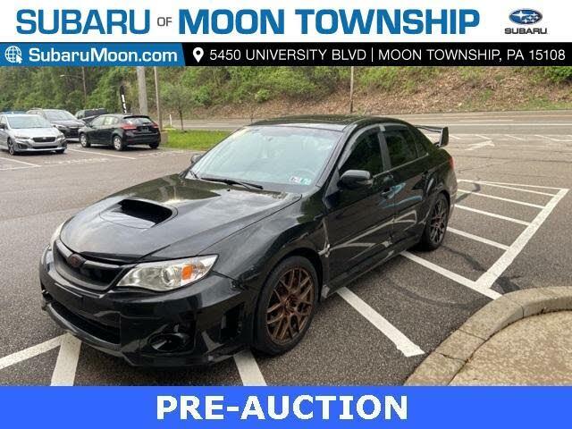 2014 Subaru Impreza WRX STI Limited Sedan AWD