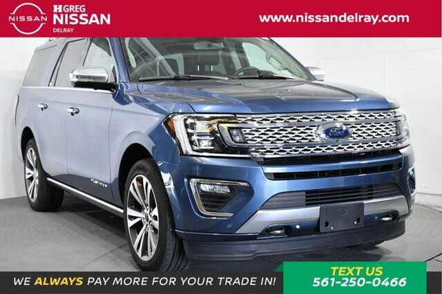 2020 Ford Expedition MAX Platinum 4WD