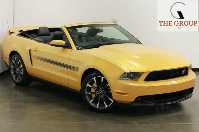2012 Ford Mustang GT Premium Convertible RWD