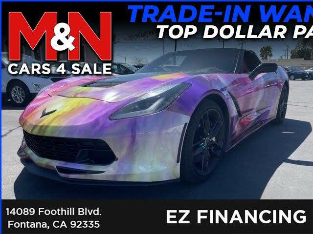 2015 Chevrolet Corvette Stingray Z51 3LT Coupe RWD