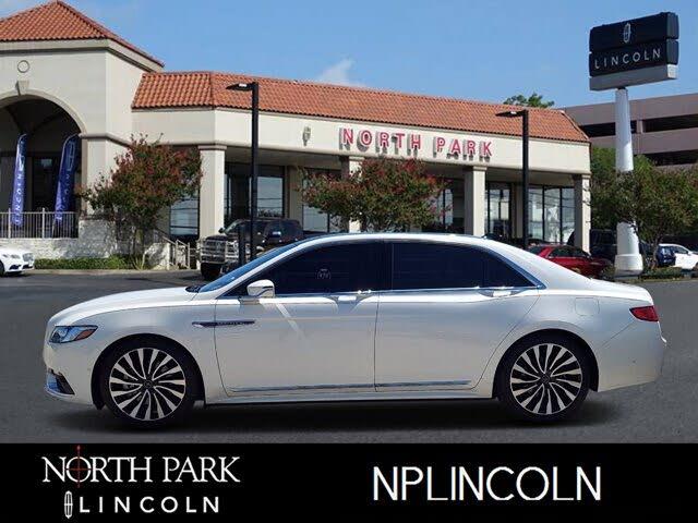 2018 Lincoln Continental Black Label AWD