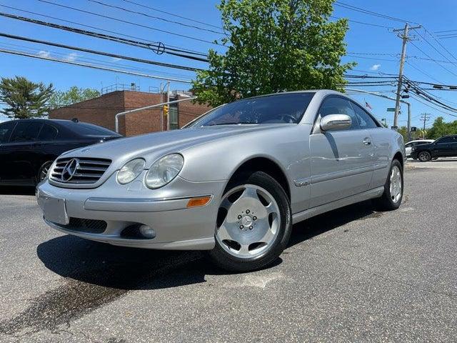 2001 Mercedes-Benz CL-Class CL 600 Coupe