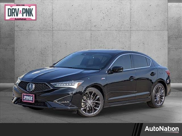 2020 Acura ILX FWD with Premium and A-Spec Package