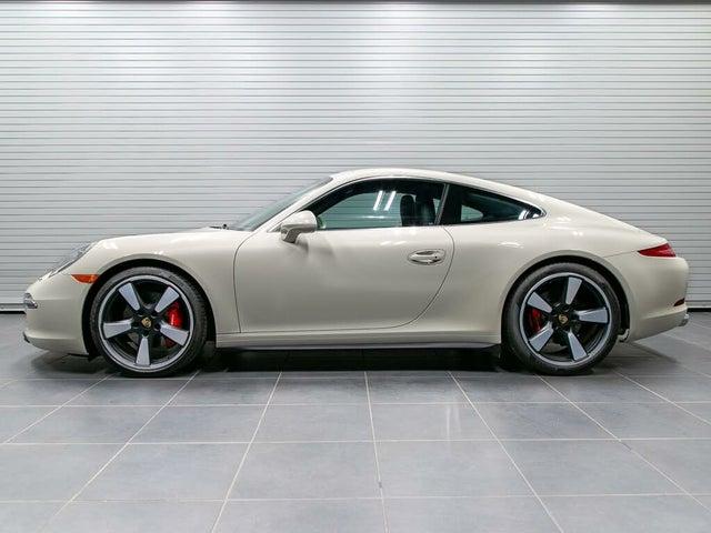 2014 Porsche 911 50th Anniversary Edition Coupe RWD