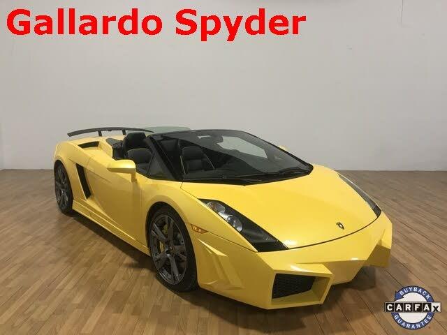2007 Lamborghini Gallardo Spyder AWD