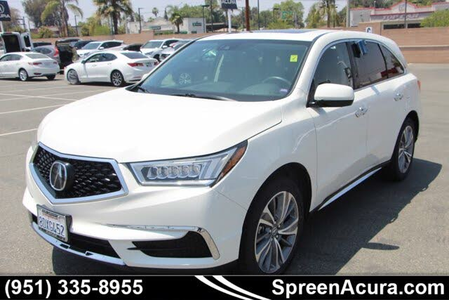 2018 Acura MDX FWD with Technology and Entertainment Package