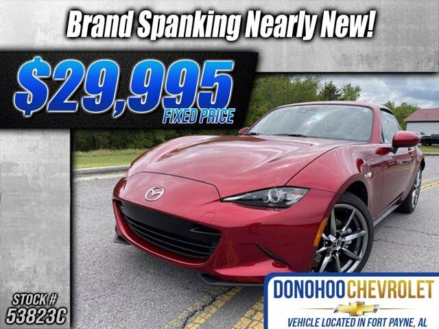 2020 Mazda MX-5 Miata RF Grand Touring RWD