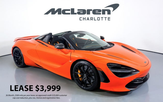 2021 McLaren 720S Performance Spider RWD